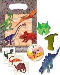 Dinosaur Gift Bags, Dinosaur Party Bags