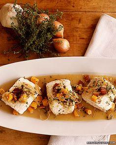 Halibut a la Barigoule - Martha Stewart Recipes