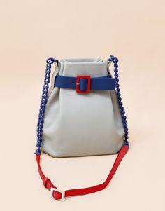 Mini Bucket Shoulder Bag - Grey | Matter Matters | Shop | NOT JUST A LABEL