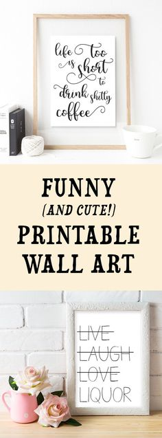 Funny Quotes Printable Funny Quotes Wall Art Dorm Room Decor Office Decor F Dorm Room Signs, Dorm Room Walls, Cool Dorm Rooms, Dorm Room Quotes, Home Decor Quotes, Wall Art Quotes, Tumblr Wall Art, Diy Room Decor Tumblr, Funny Home Decor