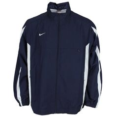 Nike Mens Championship Team Windbreaker Track Jacket ($38) ❤ liked on Polyvore featuring men's fashion, men's clothing, men's activewear, men's activewear jackets, mens activewear, mens track tops and mens track jackets