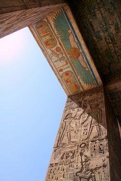 Medinet Habu. Templo de Ramsés III.