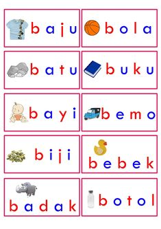 dhpjournaling: Langit mau belajar Baca Kindergarten Reading Activities, Free Kindergarten Worksheets, Kindergarten Literacy, Worksheets For Kids, Preschool Activities, Addition Worksheets First Grade, First Grade Reading Comprehension, Printable Activities For Kids, Kids Education