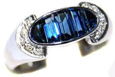 18K White Gold Gemstone Unique Diamond Blue Sapphire Ring... https://www.amazon.com/dp/B00CDO0AEW/ref=cm_sw_r_pi_dp_p4hExb4K81QNY