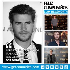 ¡Felices 26 años al actor australiano #LiamHemsworth, conocido por su papel de #GaleHawthorne en #LosJuegosDelHambre #TheHungerGames.