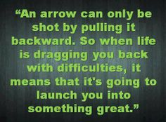 An arrow can only be shot by....