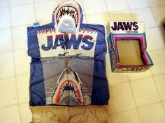 Boxed halloween costumes.....remember them all stacked up at your local Ames or mr. Good buys?