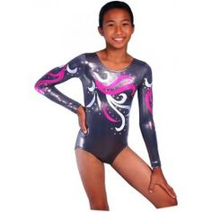 Future competition leotard for my girls... I really want to coach competitive gymnastics.