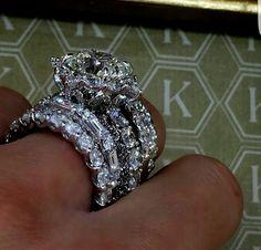 Diamond Wedding Rings, Diamond Rings, Wedding Band, Dream Engagement Rings, Diamond Are A Girls Best Friend, Jewelry Rings, Jewellery, Gold Jewelry, Beautiful Rings