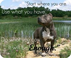 Start where you are,