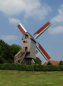 windmills in north of France