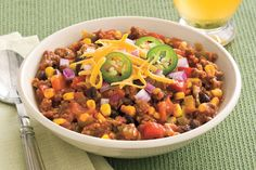 Slow-Cooker Halloween Chili