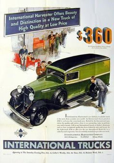 old international trucks | old car ads home | old car brochures | old car manual project ...