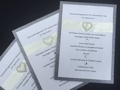 Hey, I found this really awesome Etsy listing at https://www.etsy.com/uk/listing/230427115/wedding-menus-glittery-silver-and-cream
