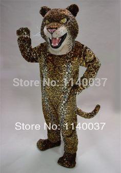 >> Click to Buy << mascot plush cougar leopard Jaguar Mascot Costume custom fancy costume anime cosplay mascotte theme carnival costume #Affiliate