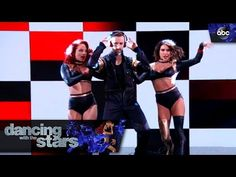 """James Hinchcliffe and Sharna Burgess Waltz and Foxtrot to """"Over And Over Again"""" Nathan Skyes ft. Ariana Grande on the Dancing with the Stars' Season 23 Final..."""