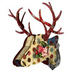TROFEO CERVOHis Majesty, nessun nome migliore potrebbe essere dato a questa grande testa a forma di cervo; nelle sue tonalità di rosso.Da una tavoletta in legno a un oggetto: nasce un accessorio inatteso per la tua casa. - FORME e COLORI articoli per la casa, articoli regalo, liste nozze, cristallerie, porcellane a Treviglio, Bergamo