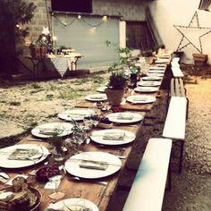 Workshop stylisme déco à la Maison Pernoise avec Anouk B / Kinfolk style dinner