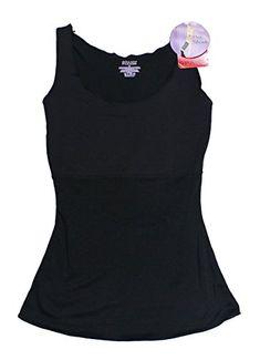 0a110166cc Spanx Hide   Sleek Body Smoothing Camisole Plus Size Shapewear Black)