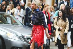 30 Style Hacks To Up Your Game In 2016  #refinery29  http://www.refinery29.com/style-anti-resolutions-2016#slide-9  Try letting a dress peek out from the bottom of a skirt while you're at it....