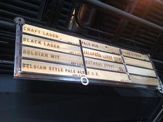 Belgian Style, Tap Room, Brewery, Signage, Menu, Board, Beer Poster, Menu Board Design, Billboard