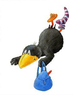 ♥ Illustration, Disney, Christmas Ornaments, Comics, Holiday Decor, Kids, Crafts, Raven, Drawings
