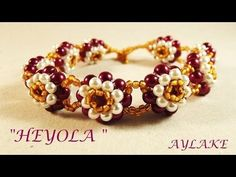 Best Seed Bead Jewelry  2017  How to do bracelet Heyola with beaded pearls