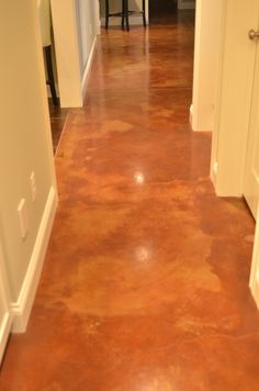 Cement Floors - this will be in my next house instead of tile.
