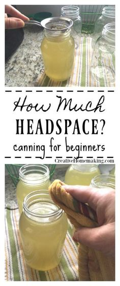 Much Headspace How Much Headspace. How to measure headspace in jars when canning.How Much Headspace. How to measure headspace in jars when canning. Canning Soup Recipes, Pressure Canning Recipes, Canning Tips, Home Canning, Pressure Cooking, Canes Food, Canning Vegetables, Canning Vegetable Soups, Veggies