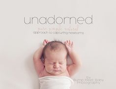 A 61 page PDF guide and 24min video that goes over a more natural approach to newborn photography. Stepping back away from over posed newborns, props, wraps, hats, etc, and focusing on your lighting, settings  and learning how to look for details to capture, this guide will show you a different way to photograph newborns. The video tutorial will go over editing in both Lightroom and photoshop and how to process your RAW image simply. The focus is on how to get it right in the camera...