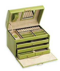 Style Up Your Life: Jewelry Boxes - A Safety For Your Jewelry