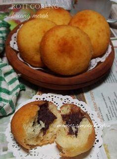 roti goreng kacang merah