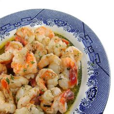 Baked Herbed Shrimp