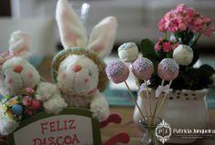 Mesa decorada para páscoa por Patricia Junqueira {Home, Receber & Baby} para Receber Bem e ser uma boa anfitriã