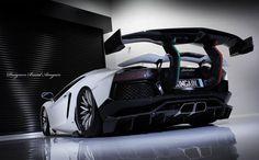 Japanese Tuner Aimgain Reveals Crazy Lamborghini Aventador At Tokyo