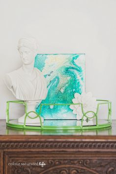 Learn the secrets to making amazing Marble Art with a stunning high gloss look!!