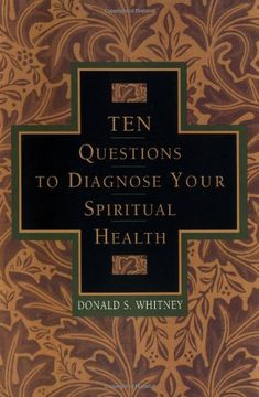 Ten Questions to Diagnose Your Spiritual Health by Donald S Whitney,http://www.amazon.com/dp/1576830969/ref=cm_sw_r_pi_dp_xcNVsb0PER0FB92D