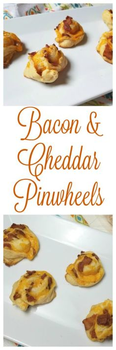 Bacon & Cheddar Pinwheels - This Bacon & Cheddar Pinwheels recipe is perfect for the holidays because it's a super tasty appetizer, breakfast or brunch idea!  #MadeWithLove #Meijer #ad Yummy Appetizers, Appetizers For Party, Appetizer Recipes, Fall Recipes, Wine Recipes, Pinwheel Recipes, Best Party Food, Party Dishes, Recipes From Heaven