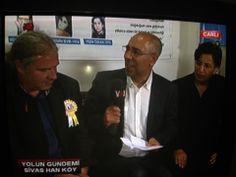 Für alle türkischsprachigen... Andrej auf YOL TV, live aus Sivas...