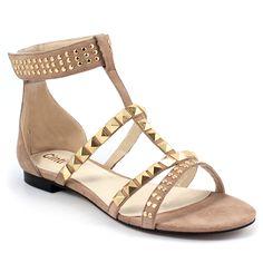 Scarpe moda donna: Sandali flat F37-02 Chatulle
