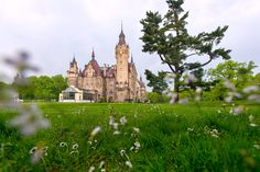 Picture of Moszna Castle in Poland