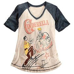 Cinderella Tee for Women | Tees, Tops & Shirts | Disney Store 24.99