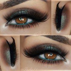 """__ •• Eyeshadows: @motivescosmetics 'Mavens Element' palette // @bellaterracosmetics mineral shimmer 'Deep' __ •• Liner: @motivescosmetics 'Little Black…"""