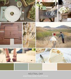 Inspire. Palette #100: Neutral Day | Anastasia Marie