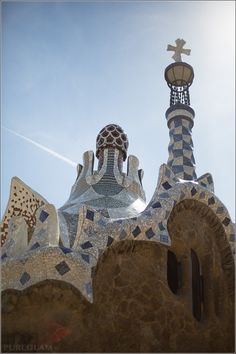 Park Güell – the green garden of Barcelona by Antoni Gaudi - Barcelona, Spain/Spanien #Barcelona #Spain
