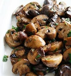 Recipe for Roasted Mushroom Medley - Roasting any vegetable caramelizes them which brings out the full flavor. I like to mix a combination of mushrooms together..