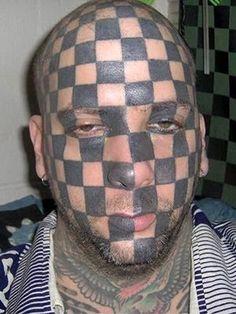 Top 10 Funny Face Tattoos Tatoos Page 2 Terrible Tattoos, Weird Tattoos, Funny Tattoos, Funniest Tattoos, Dumbest Tattoos, Tattoos Pics, Tattoos Gallery, Tattoo Fails, Bad Tattoos