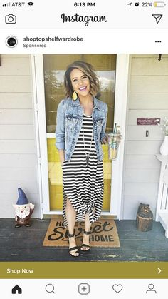 Super cute, relaxed outfit!
