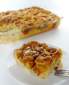 Cinnamon Brown Sugar French Toast Casserole..for Christmas morning