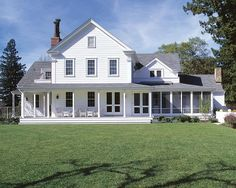 Whether it's the architectural details, sprawling porches, or just excess of charm, one thing is certain: We're all about farmhouses' classic style. And like the families on We Bought the Farm, we're craving the country life. Check out these incredible farmhouses we're ready to ditch the city life for.